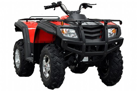 Sportsman 500 ATV, 4WD