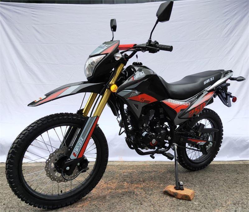 Hawk 250 DLX Enduro Dirt Bike, 5-Speed, Street Legal