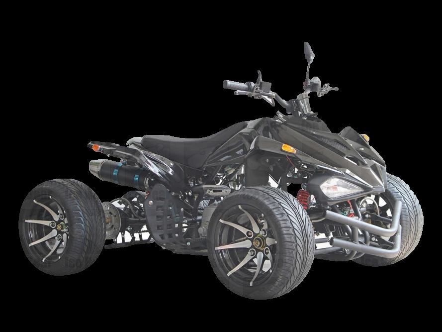 IceBear R12 ATV 125, Semi Automatic with Reverse, 12 inch Aluminum Wheels