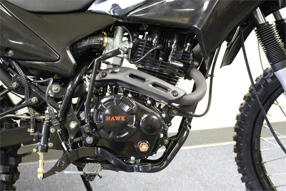 Hawk 250 Enduro Dirt Bike, 5-Speed Manual, Electric Start, (21/18)