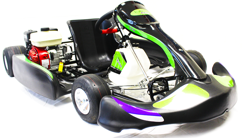 Voodoo VR1 Adult Race Go Kart, 6 5hp Engine, ready-to-run (Super Sale)