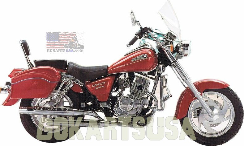 King Softail Twin 250 Mini Cruizer