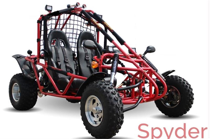 Spyder 200 Buggy Go Kart, Auto with Reverse, Racing Seats, Lights, on helix go kart wiring harness, sunl go kart wiring harness, diamond go kart wiring harness, go kart 150cc gy6 wiring harness,