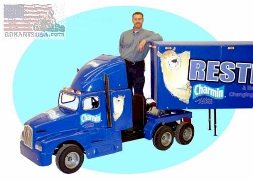 Kenworth Semi Truck Gokart