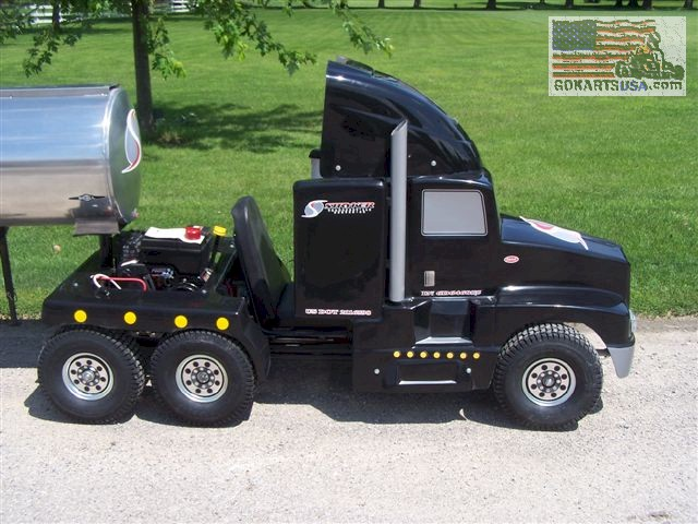 Monster Trucks For Sale >> Kenworth Semi-Truck Go Kart