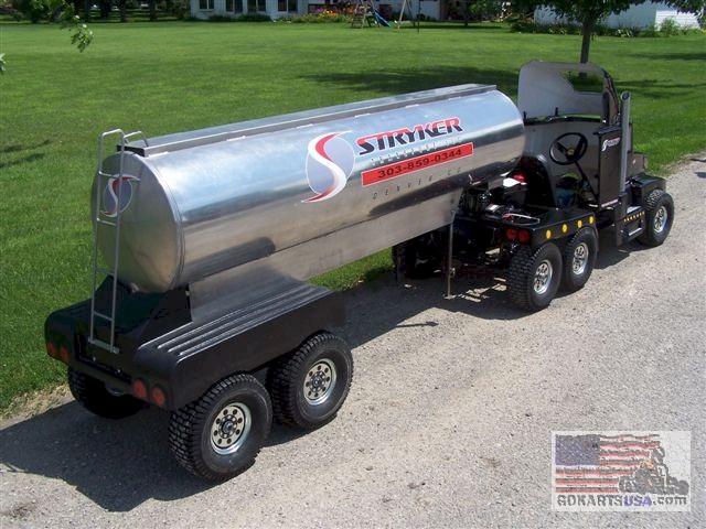 Kenworth Semi-Truck Go Kart