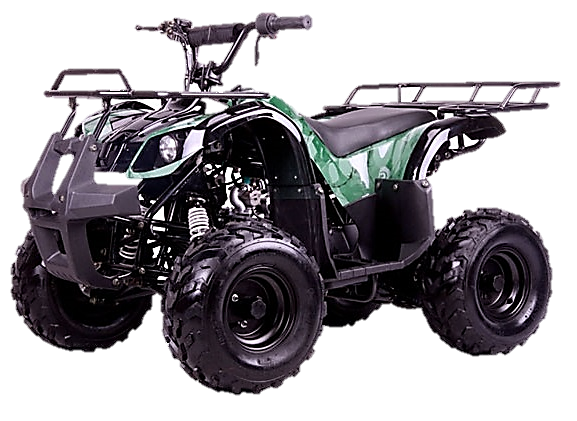 Kodiak 110cc ATV, Remote Start/Kill, Speed Governor, 7in Wheels (3050D)