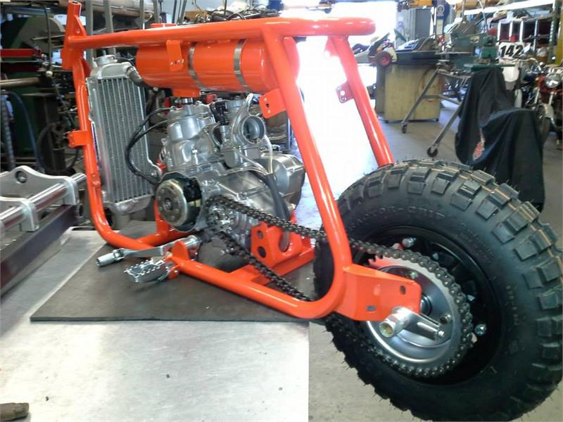 Little Badass Mini Bike Dmc Concept Bike Prototype