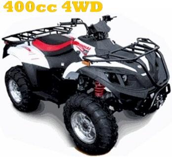 Linhai 400cc Big Horn 4WD