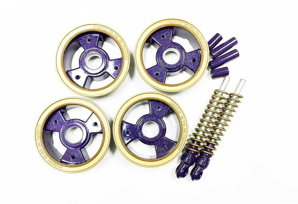 Taco 22 Wheel Kit, Rockstar Purple