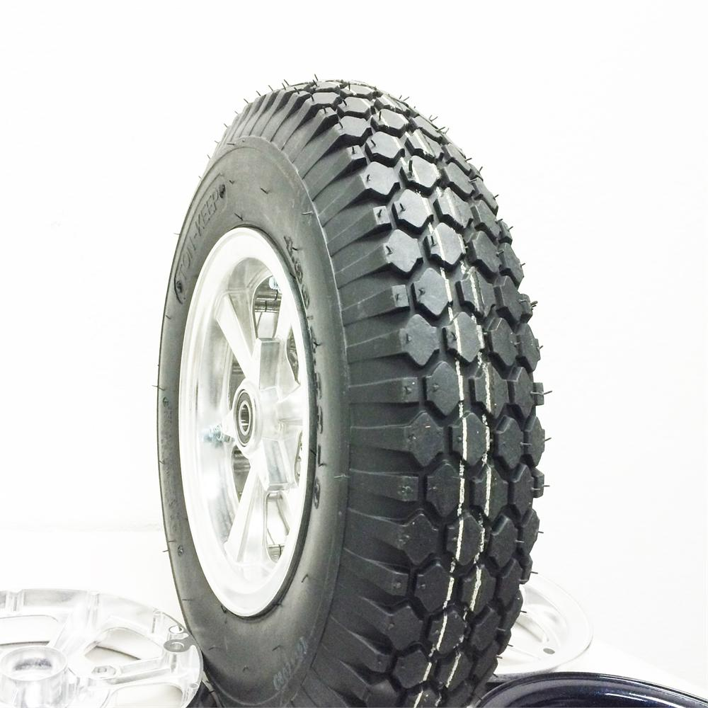 7054 STUDDED TIRE, 480/400 X 8 4 PLY, 4.6 in. WIDE, 16.0 in. OD, Minibike