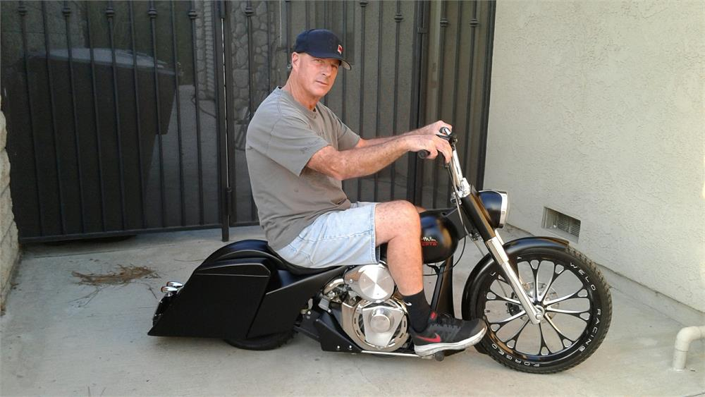 Berühmt Half Bagger Mini Bike | Dave Miller - GoKarts USA.com &PZ_93