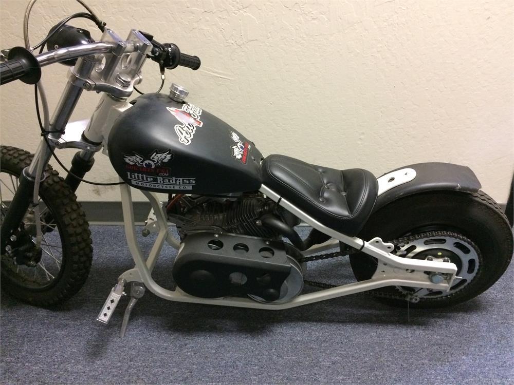 Little Badass Mini Motorcycle on Drag Mini Bike