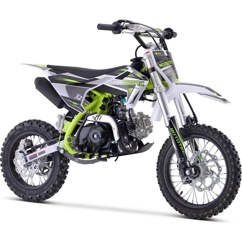 X2 110cc 4-Stroke Gas Dirt Bike