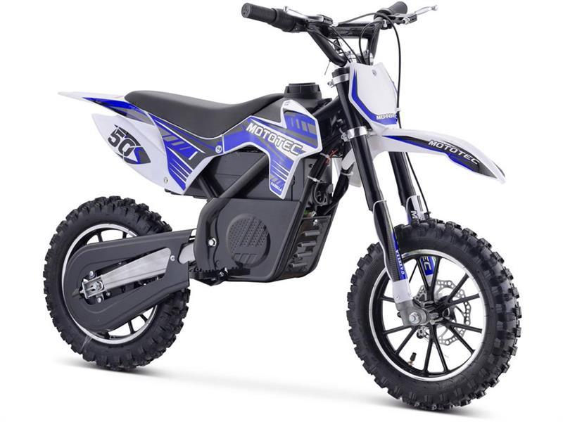 MotoTec 24v 500w Gazelle Electric Dirt Bike | GokartsUSA.com