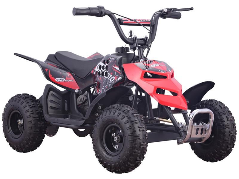 Mini Monster 24v 250w ATV Red