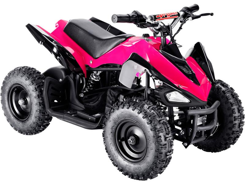 Shark Kids Electric ATV, 2-Speed with Reverse Pink