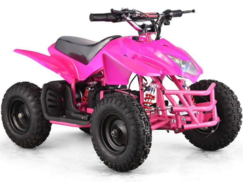 Titan Kids Electric ATV | 2-Speed with Reverse, Pink
