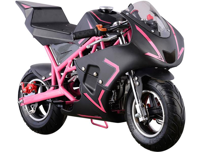 Cali Gas Pocket Bike 40cc Pink