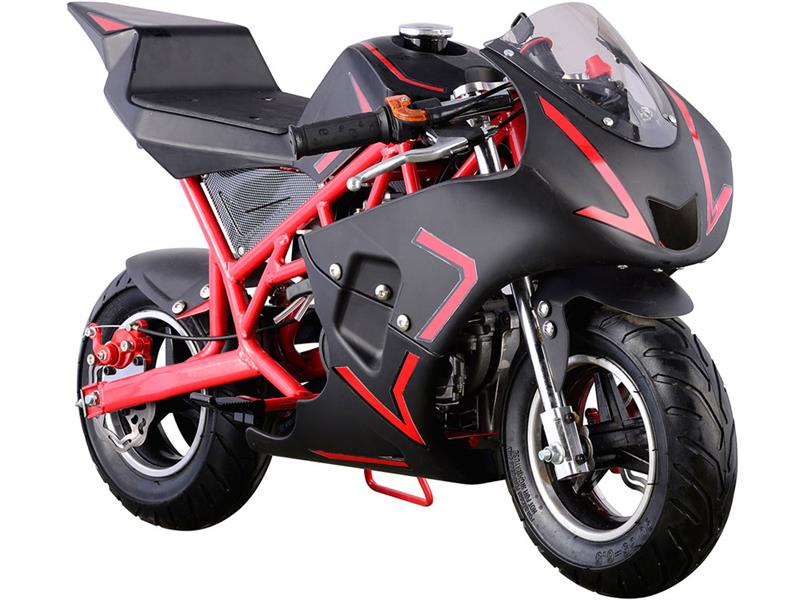 Cali Gas Pocket Bike 40cc Red