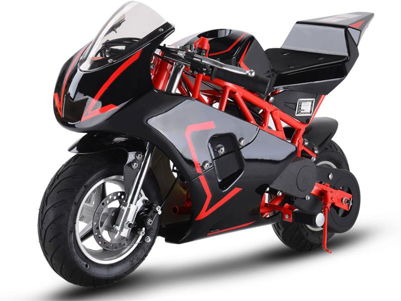 Gas Pocket Bike GT 49cc 2-stroke Red