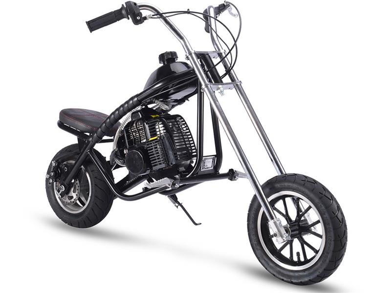 Gas Mini Chopper 49cc Black