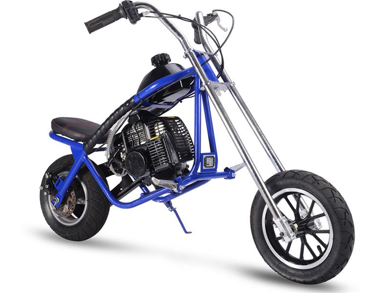 Gas Mini Chopper 49cc Blue
