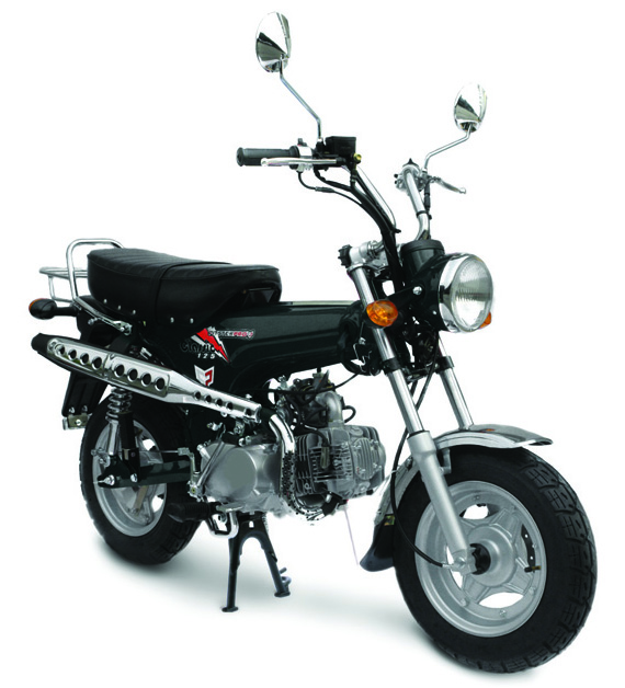 Retro Classic Trail 125 Motorcycle