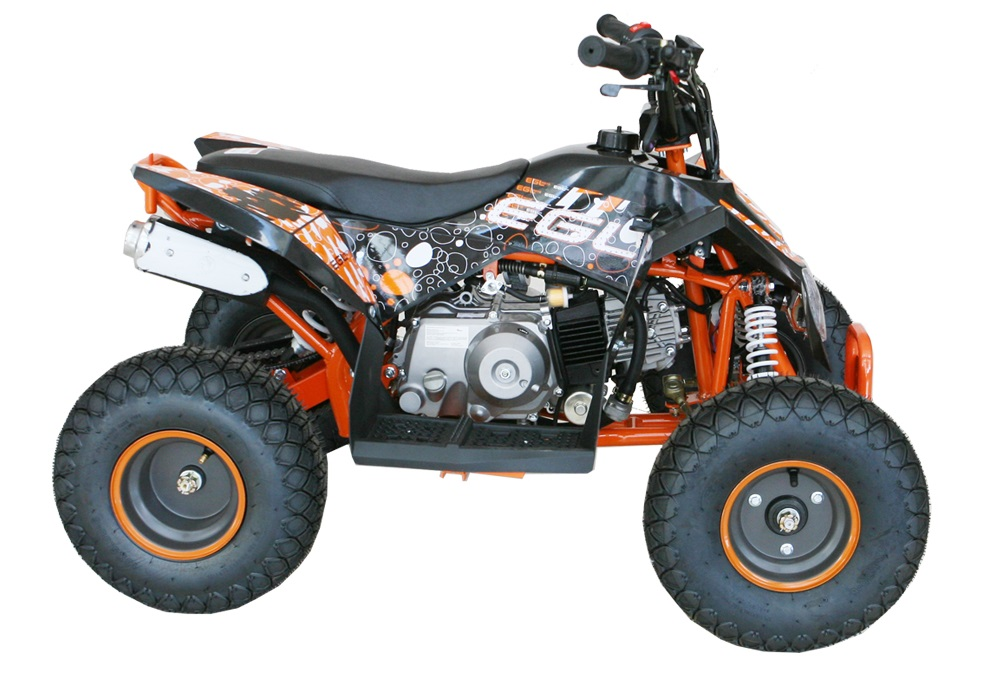 110 Kids ATV, Gas Engine, Electric Start, 3-Speed, Automatic, with Reverse