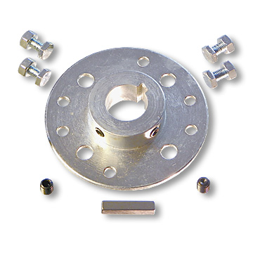 Mini-Hub and Sprockets for 1 in. Axles