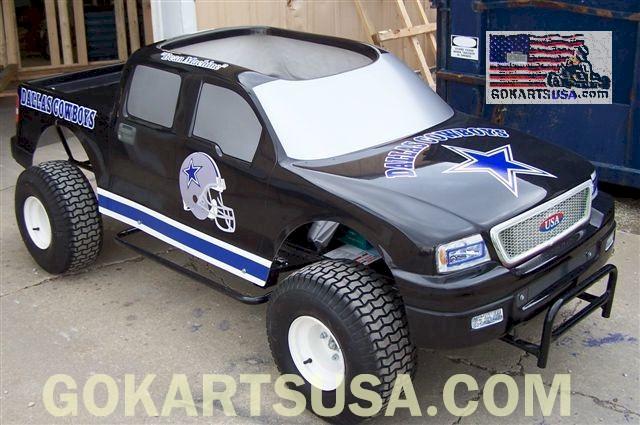 Monster Truck Go Kart