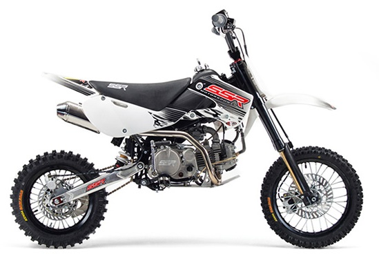 SSR 160TX Pit Bike, 4-Speed Manual Clutch