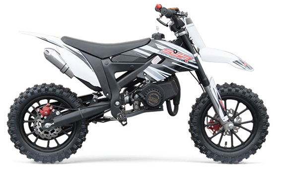 2019 SSR SX50-A Kids Dirt Bike 2-Stroke CARB Approved, Free Shipping (Super  Sale)