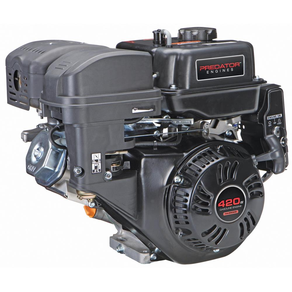 Predator 13 HP (420cc) OHV Horizontal Shaft Gas Engine EPA/CARB