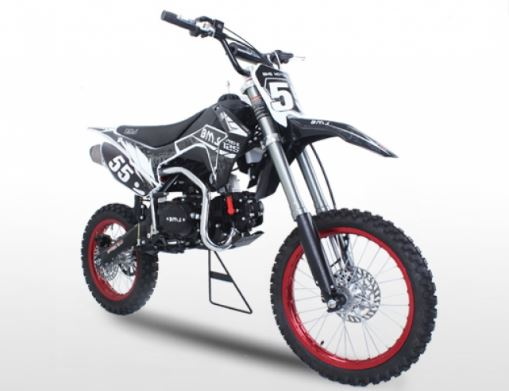 BMS Pro-X 125 4 Speed Manual Dirt Bike