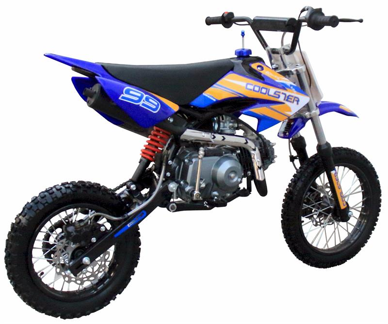 Coolste125R Dirt Bike, 4-Speed, Manual Clutch,