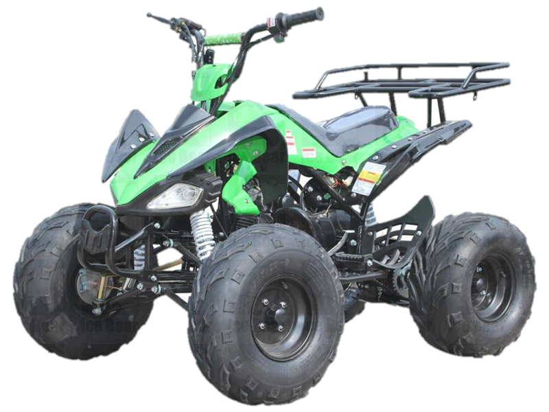 Razor 125 ATV, Fully Automatic with Reverse