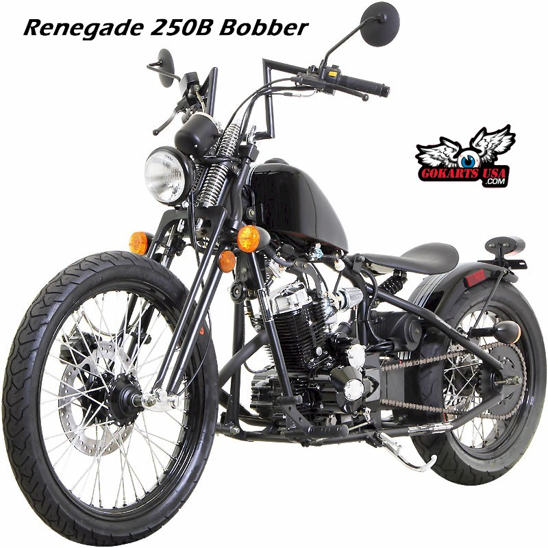 Small Scale Motorcycle Renegade 250 Bobber 250