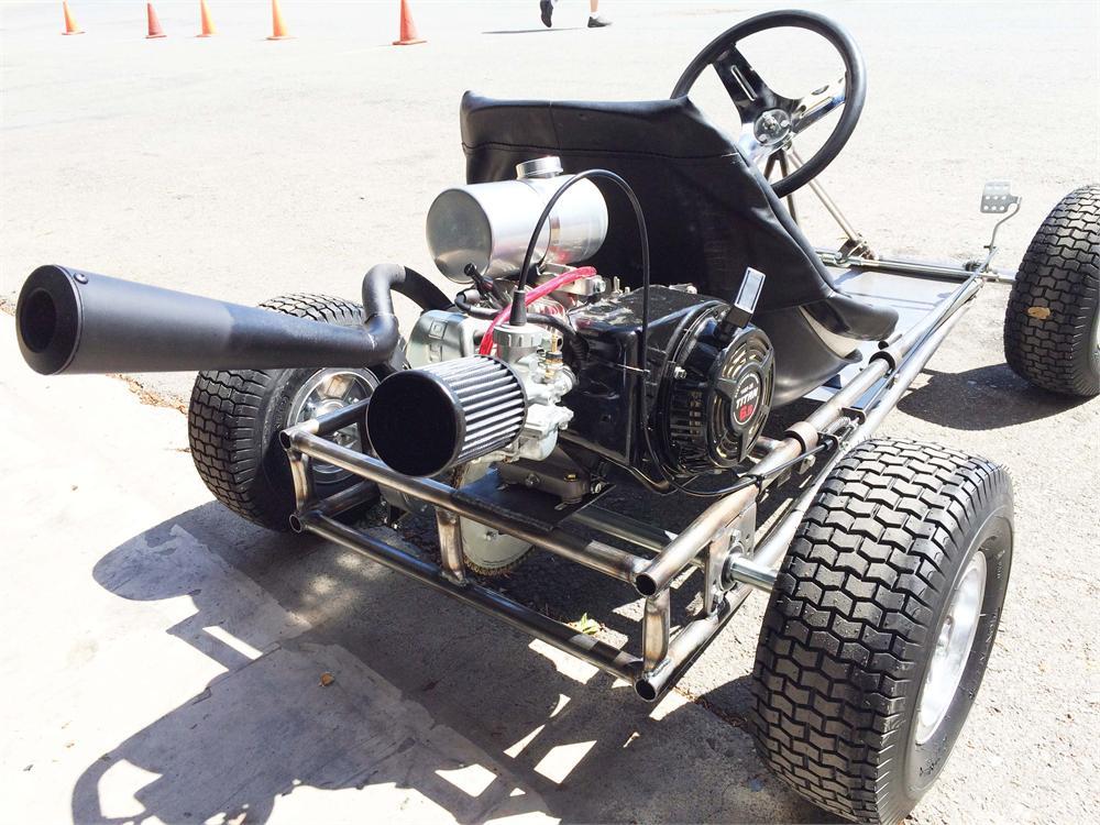 Go Kart Stinger Exhaust, fits Honda GX120/160/200, Titan and Predator