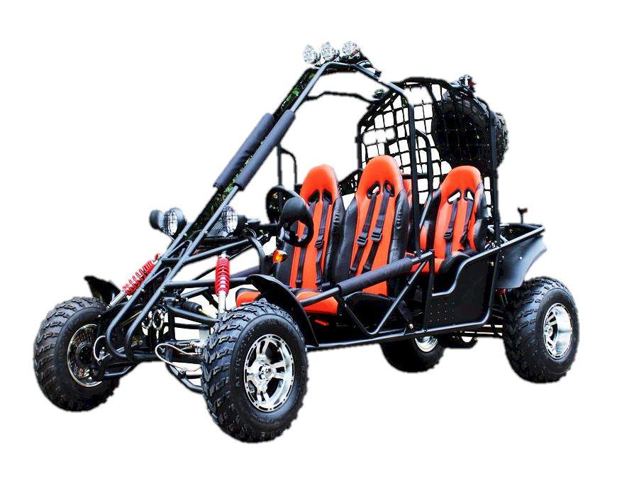 Spyder 200 Go Kart, 4-Seater Buggy on