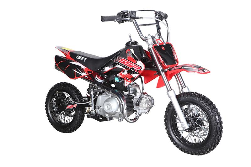 ssr pit bike 70cc 4 speed semi auto gokarts usa. Black Bedroom Furniture Sets. Home Design Ideas