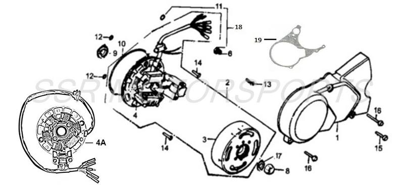 Ssr 125 Pit Bike Wiring Diagram