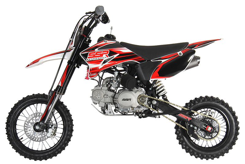 SSR 140TR Pit Bike, 4-Speed Manual