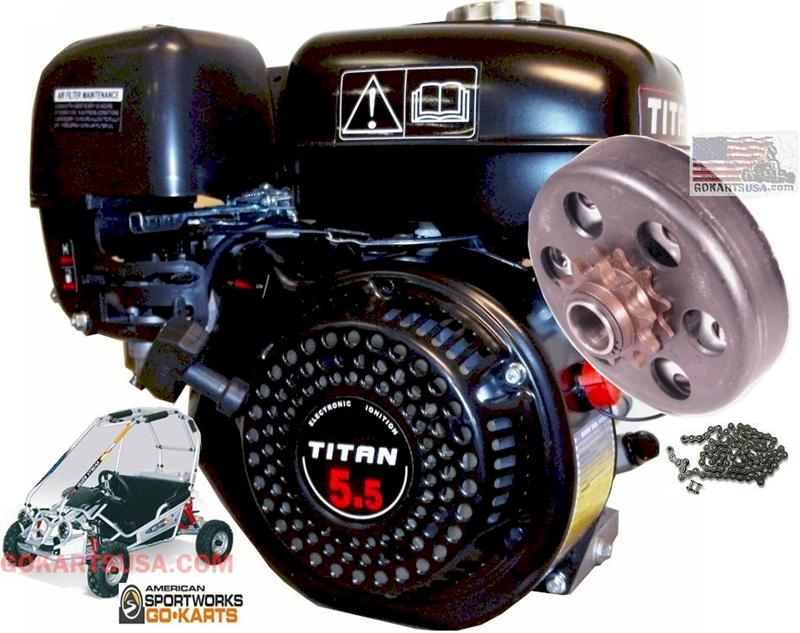 American Sportworks Silver Streak Engine Replacement Kit