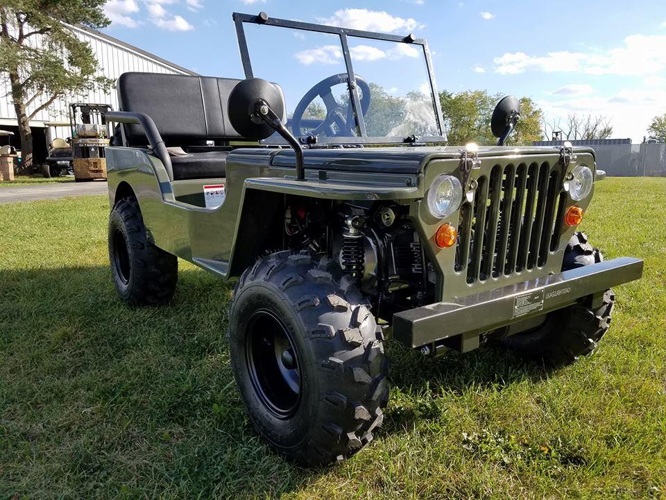 Jeep Go Kart 125cc Gas Engine 3 Speed Reverse Gokartsusacom