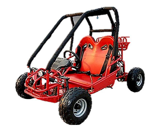 110cc Pre-Teen Go Kart with Reverse