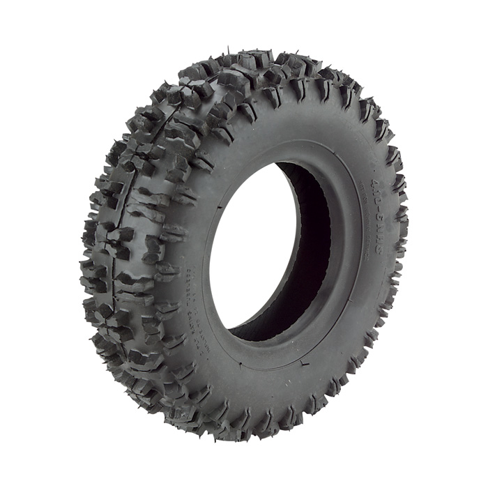 Front Tire (R OR L) 4.10-6, for TrailMaster Mini XRX XRS Gokart
