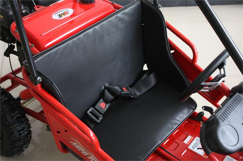 Seat Complete, for TrailMaster Mini XRS Go Kart