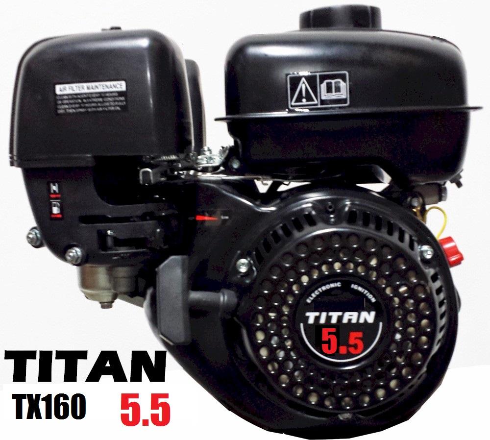 Titan TX160S 5 5hp OHV Powersport Engine 163cc, Go Kart Mini Bike