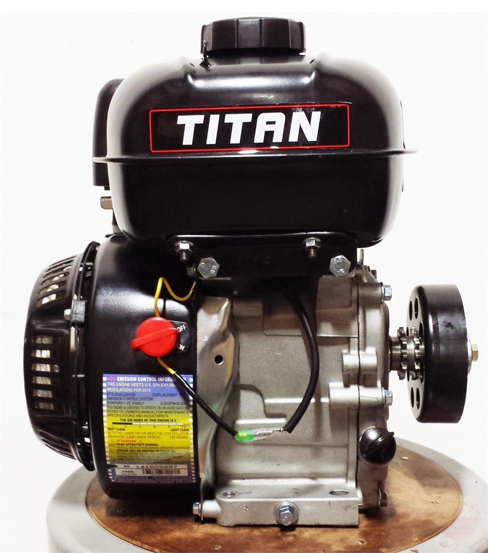 Titan 55hp Ohv Powersport Engine 126cc 5hp Subaru Diagram Clutch Sold Separately